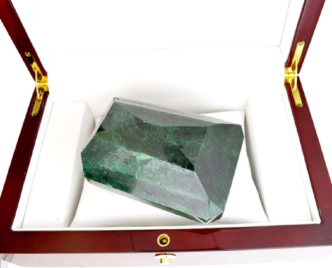 APP: 14.7k 2451.40CT Emerald Cut Green Beryl Emerald - 2