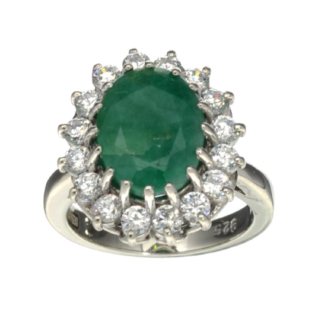 APP: 1.2k Fine Jewelry Designer Sebastian, 4.25CT Green