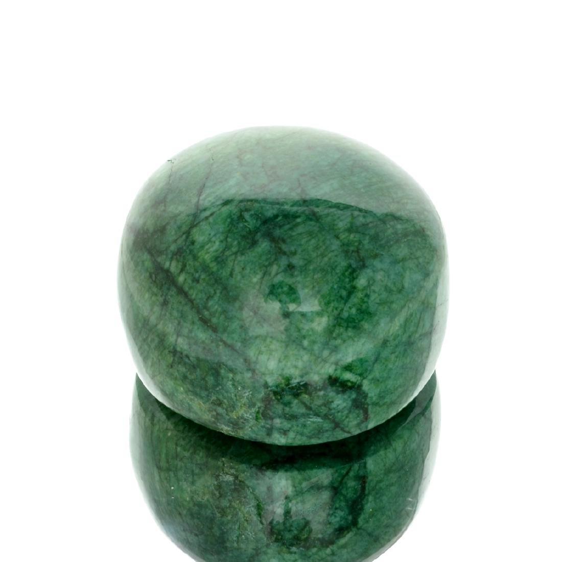 APP: 4.4k 1,757.65CT Round Cut Cabochon Green Beryl