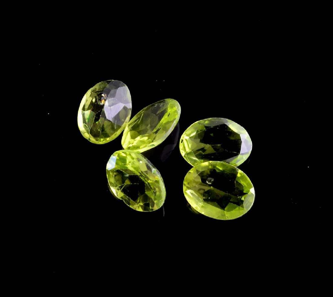 APP: 1.1k 5.43CT Oval Cut Green Peridot Parcel