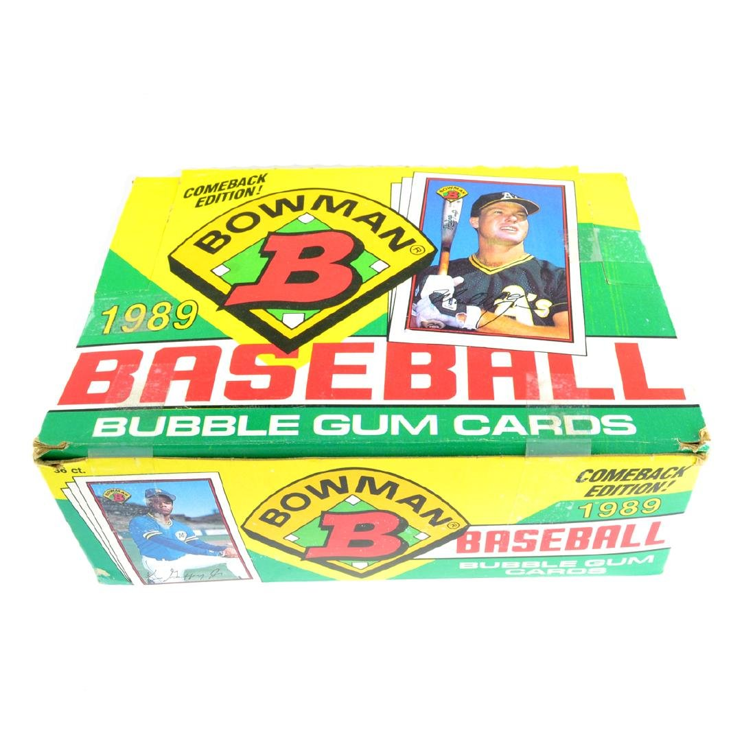 1989 Bowman Comeback Edition Baseball Bubble Gm Card