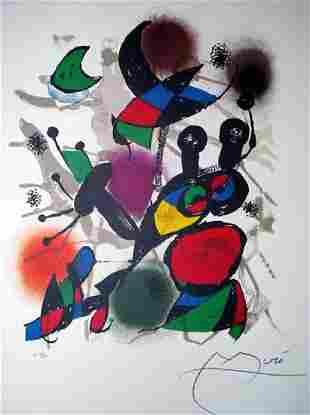 JOAN MIRO After Volume III Print 316 of 500