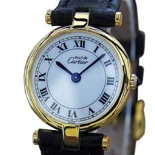 Cartier Must de Cartier 925 Solid Silver Swiss Made