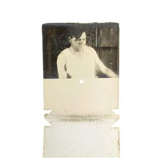 Extremely Rare Early Original Babe Ruth Photograph