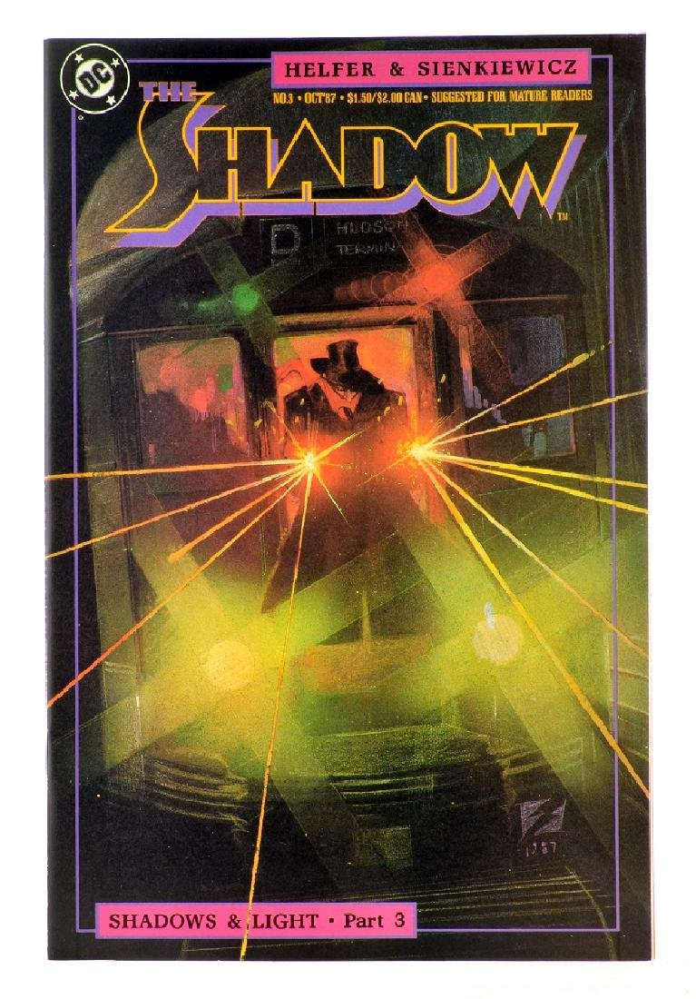 Shadow (1987 2nd Series DC) Issue 3