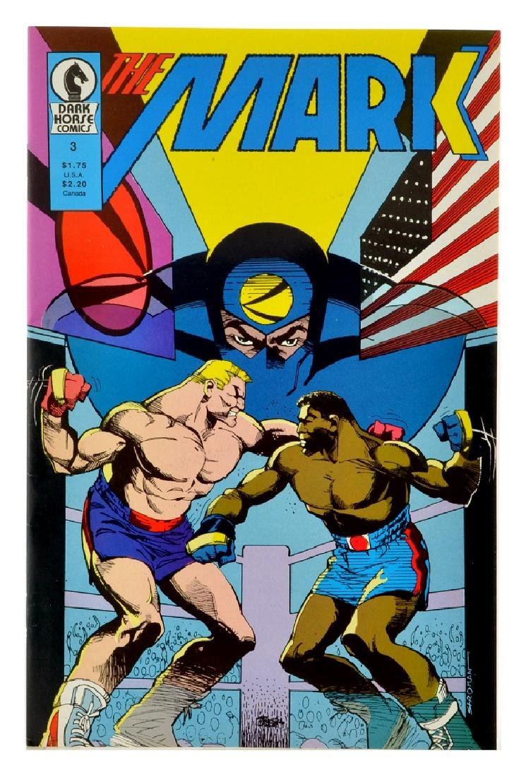 The Mark (1987) Issue 3