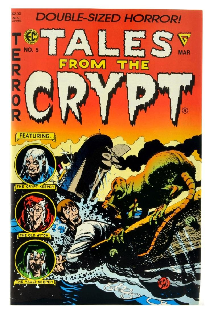 Tales from the Crypt (1990 Gladstone) Issue 5