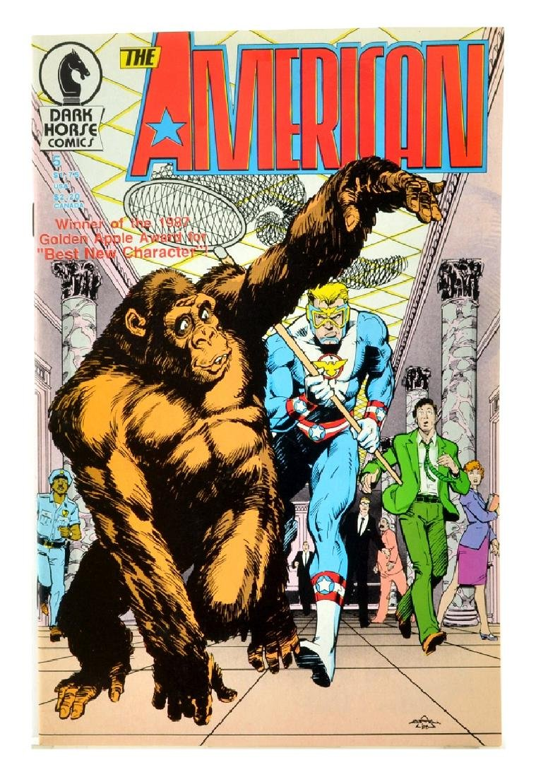 American (1987) Issue 5