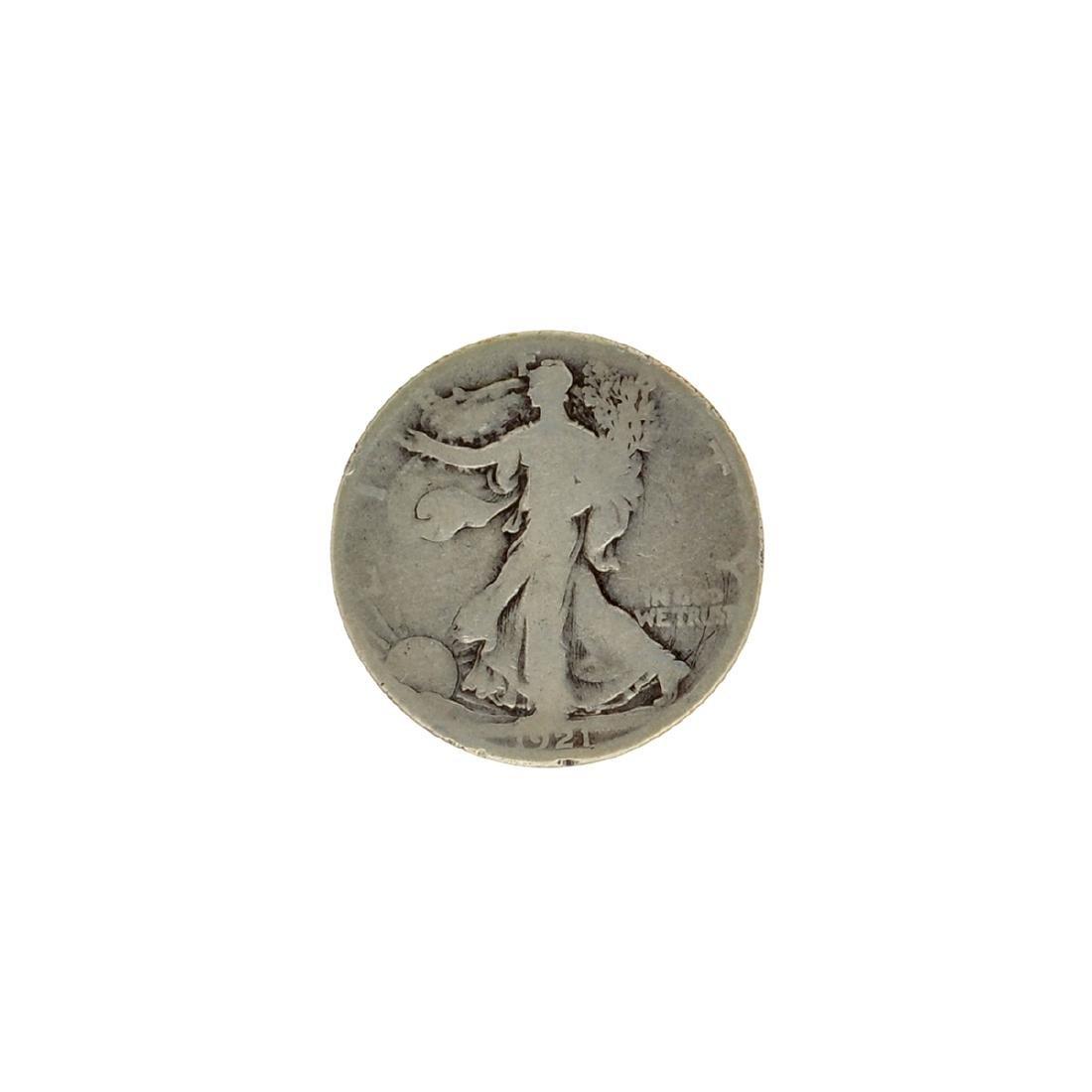1921-D Walker Half Dollar Key Coin