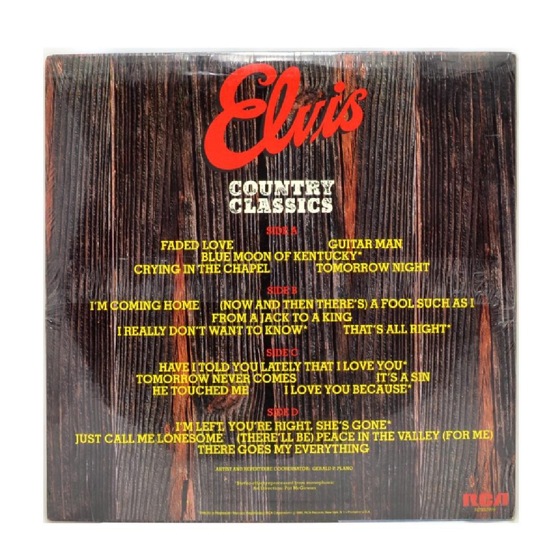 Rare Original Vintage Elvis Album (Unopen, 2 Album Set) - 2