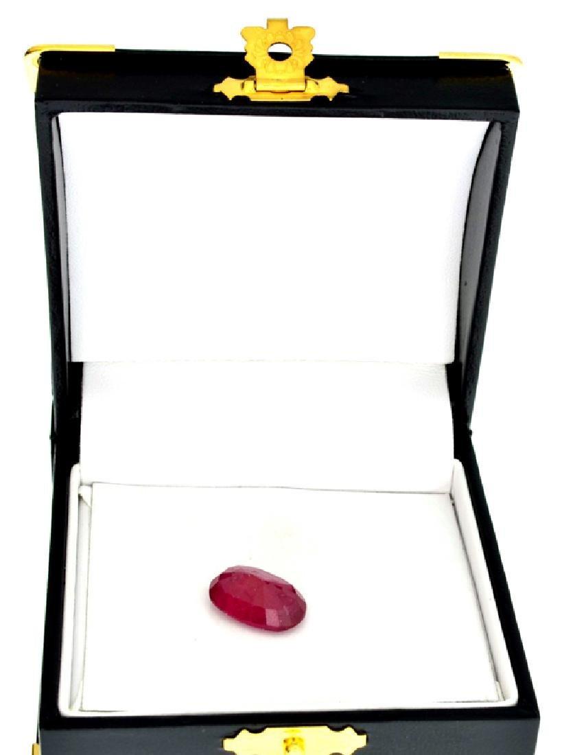 APP: 8.1k 10.08CT Oval Cut Ruby Gemstone - 2