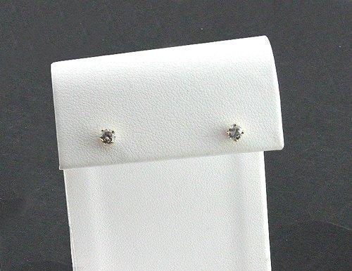 3023: 14 kt. Gold, 0.30CT Diamond Earrings, INVEST!
