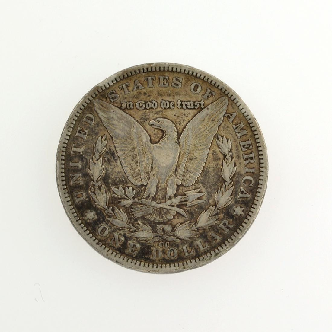 1890-CC Morgan Silver Dollar Coin - 2