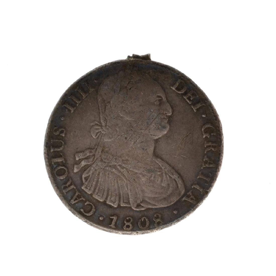 *1808 Eigth Reales American First Silver Dollar Coin -