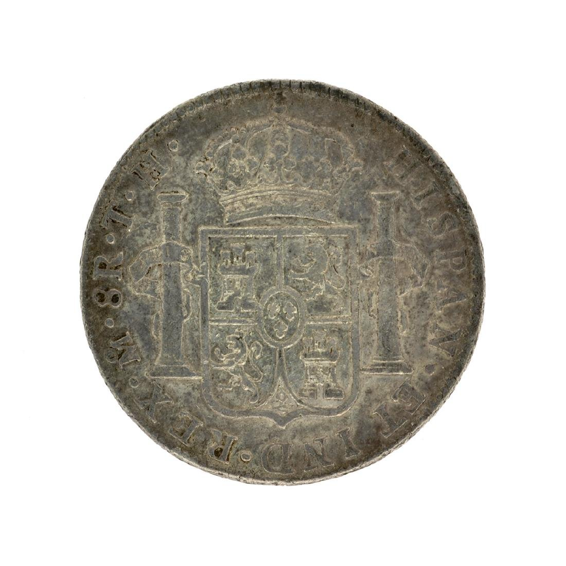 1804 Extremely Rare Eight Reales American First Silver - 2