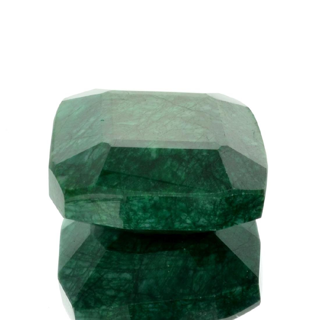 APP: 4.7k 1,179.00CT Cushion Cut Green Beryl Emerald
