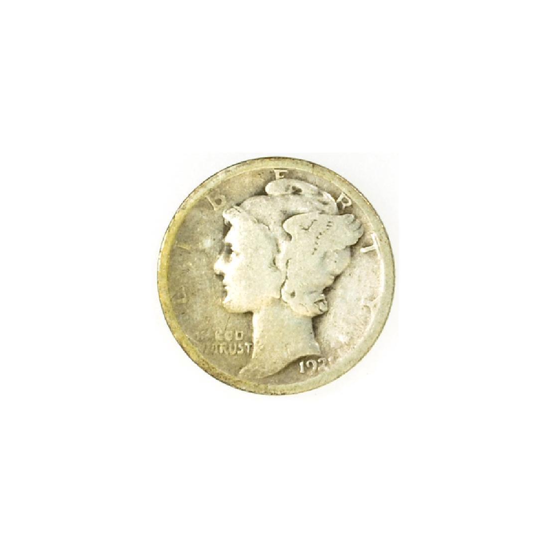 1921 Mercury Dime Coin