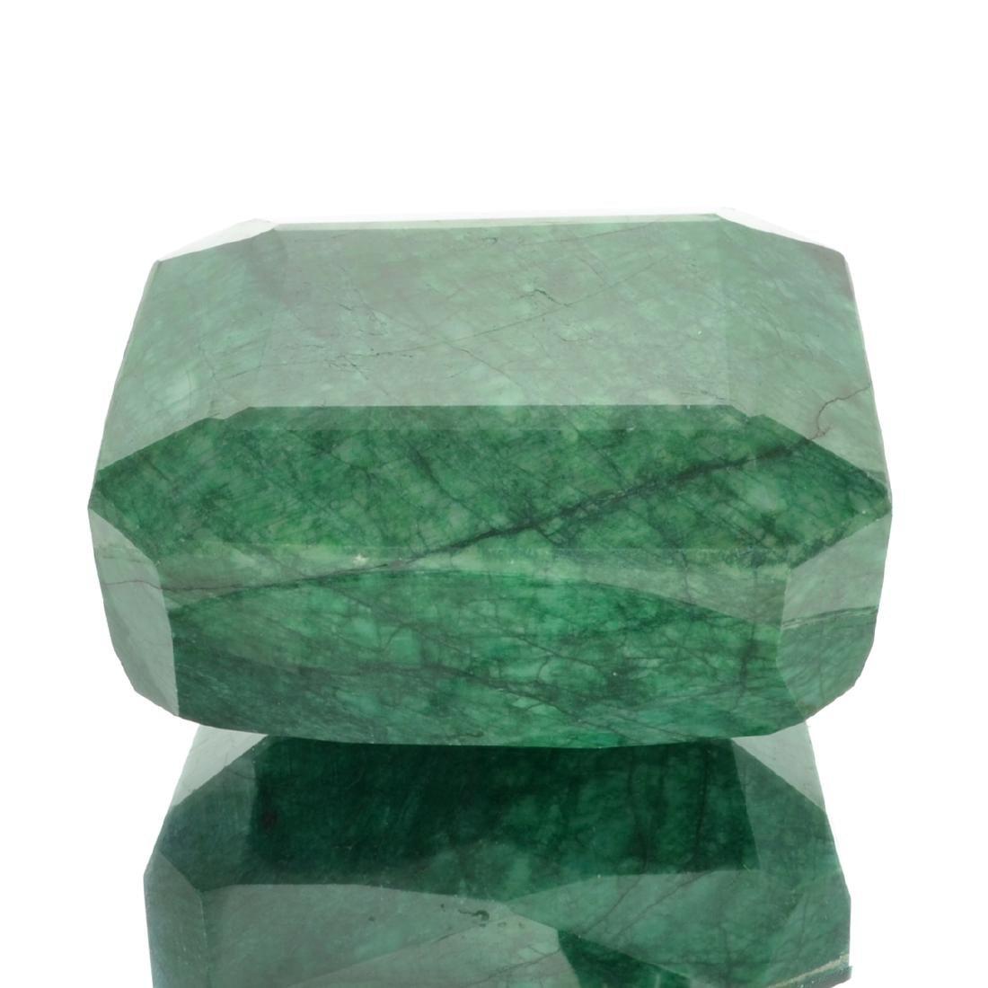 APP: 11.4k 3,801.00CT Emerald Cut Green Beryl Emerald