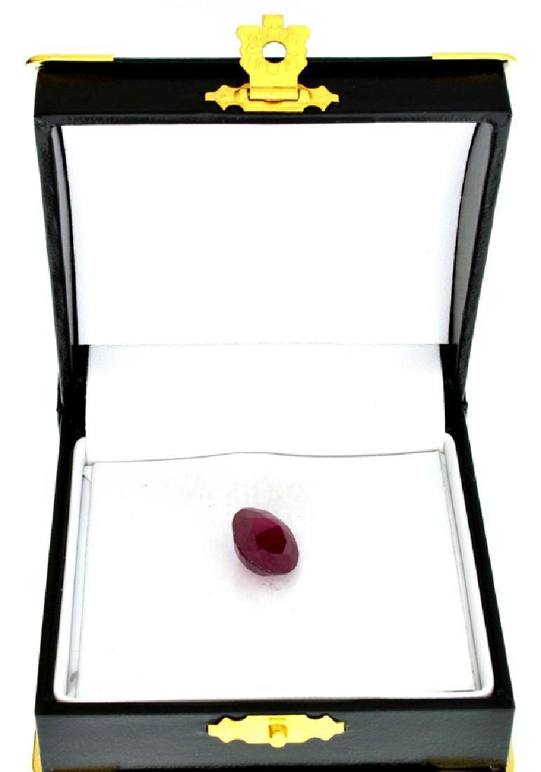 APP: 2.4k 9.19CT Oval Cut Ruby Gemstone