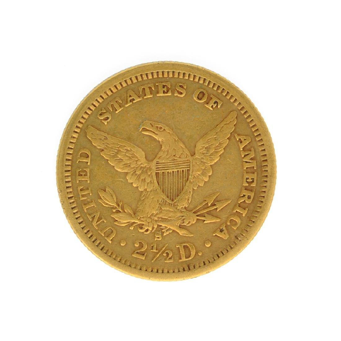 *1878-S $2.50 U.S. Liberty Head Gold Coin (JG-N) - 2