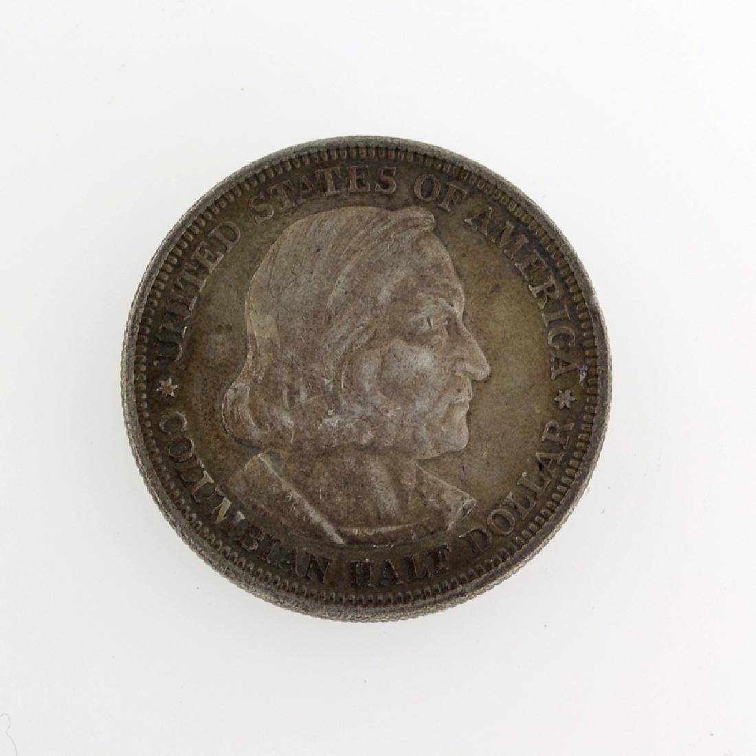 1892 Columbian Commemorative Half Dollar Coin - 2