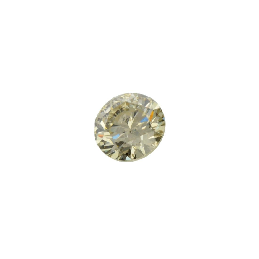 Fine Jewelry GIA Certified 0.71CT Brilliant Round Cut