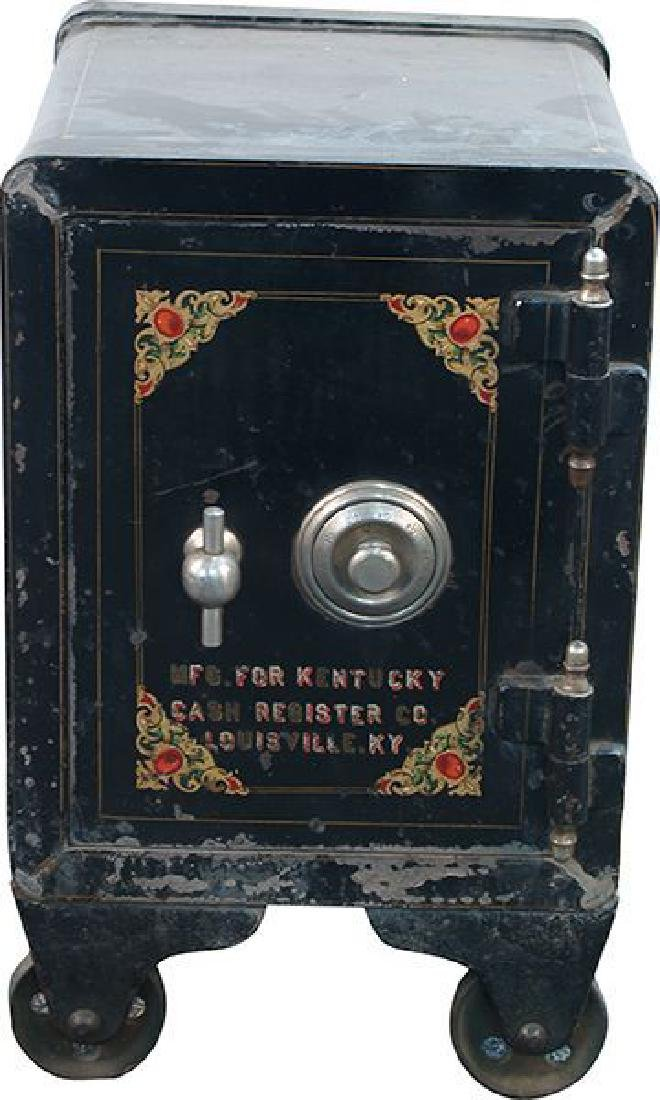 Unrestored Small Safe ''Kentucky Cash Register Co.''