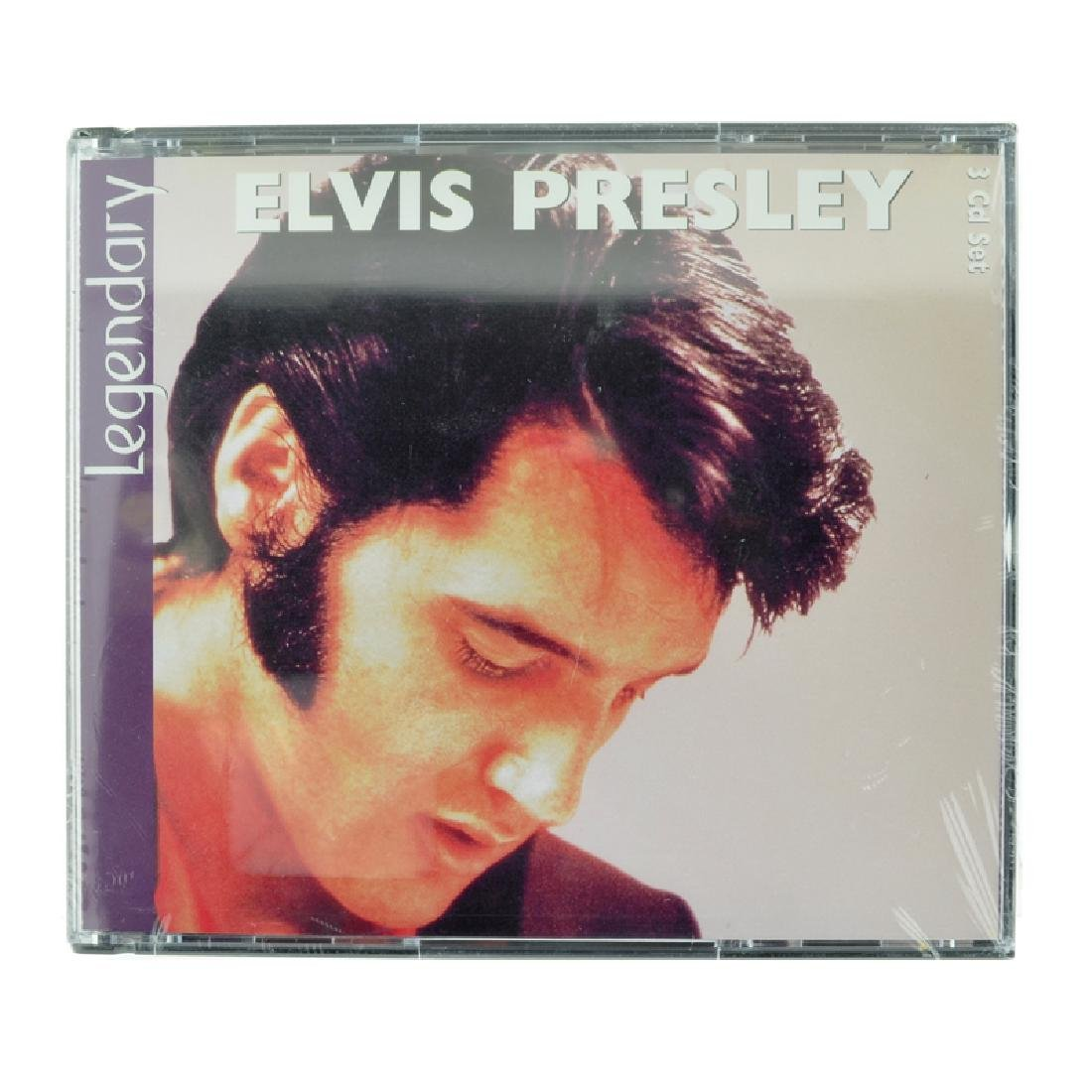Elvis Presley 3 CD's Legendary (Unopen)