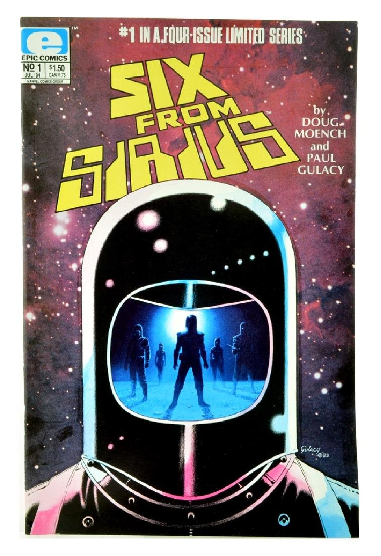 Six from Sirius (1984 1st Series) Issue 1