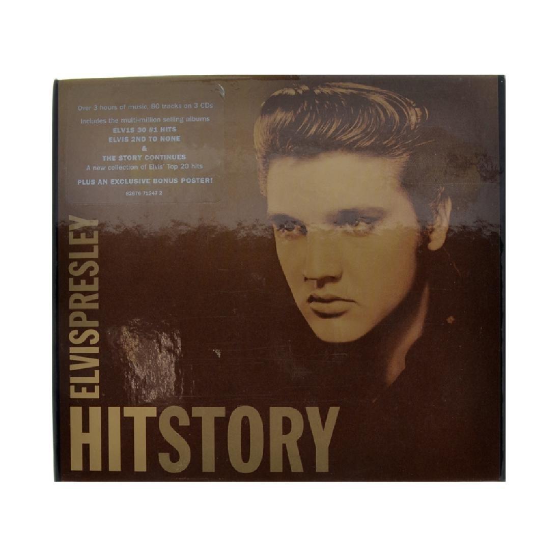 Elvis Presley 3 CD's Hitstory