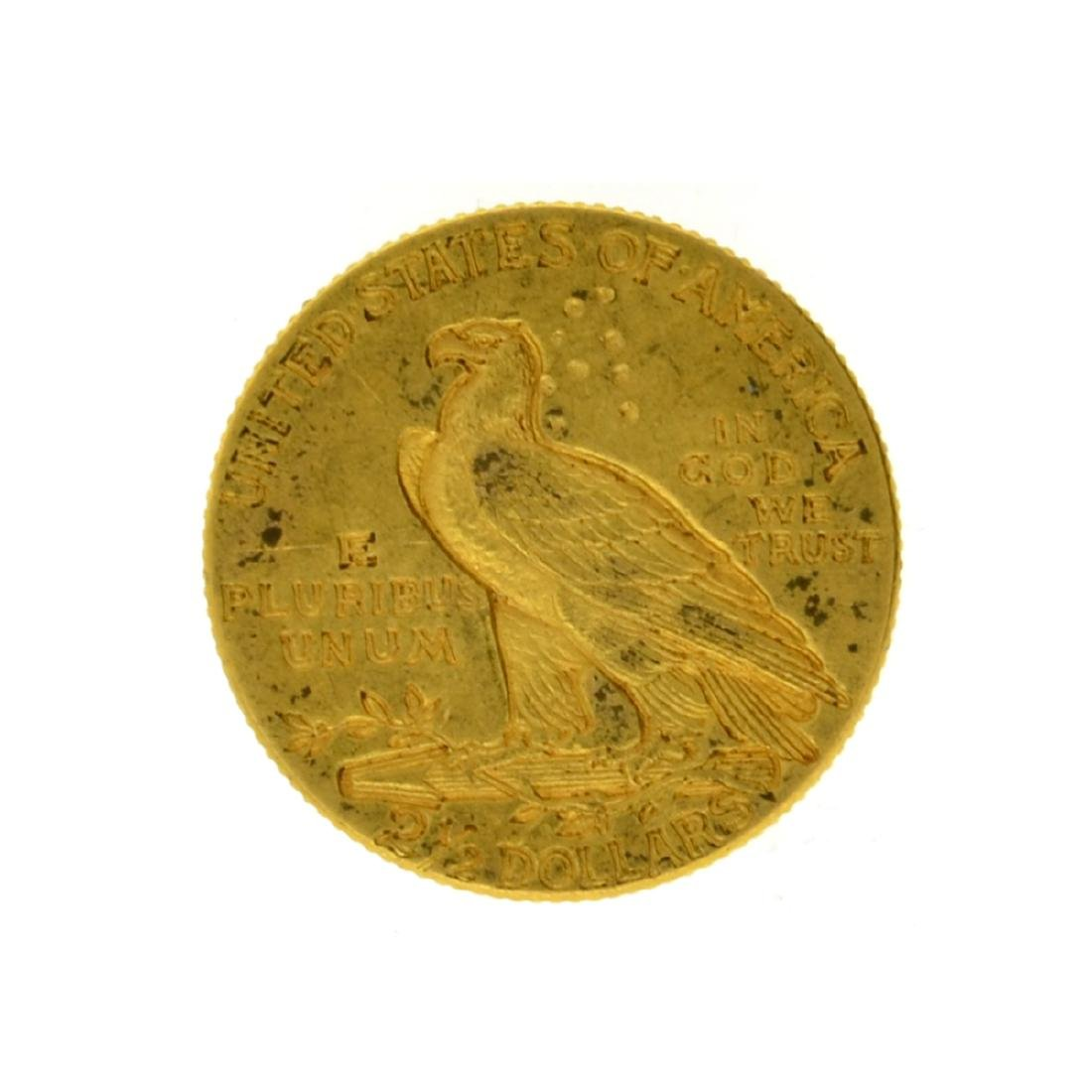 1913 $2.50 Indian Head Gold Coin - 2