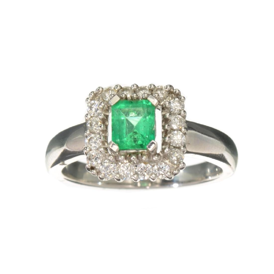 APP: 2.8k Fine Jewelry 18KT White Gold, 0.63CT