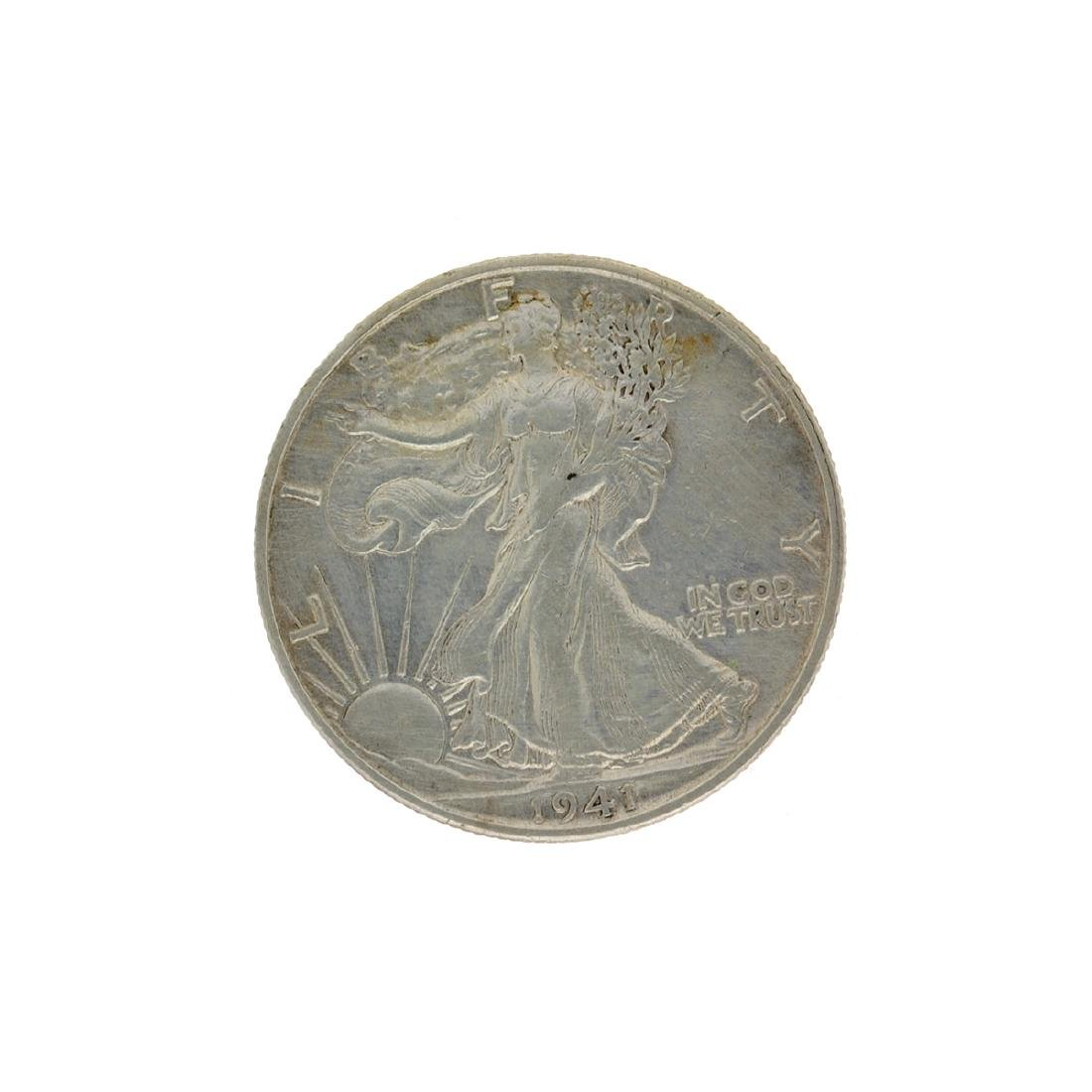 1941-S Walker Half Dollar Coin