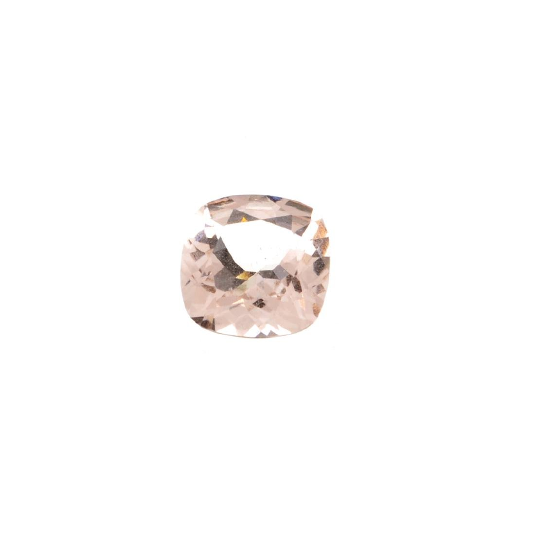 High End Rare 2.25CT Morganite Stone