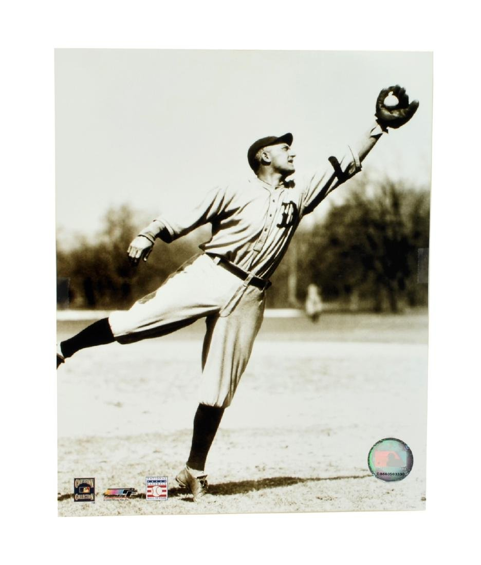 Ty Cobb Fielding Photo