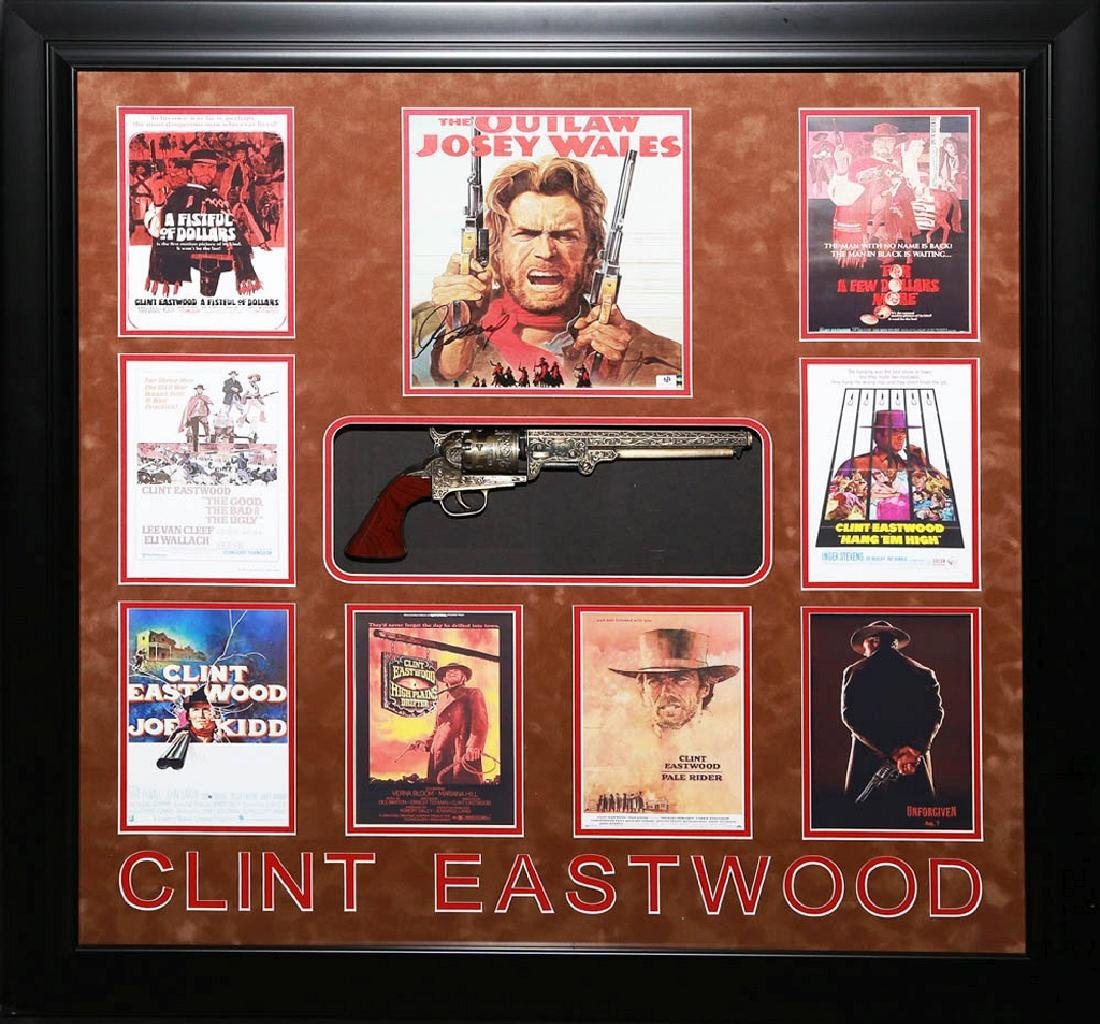 Clint Eastwood Collage with Revolver