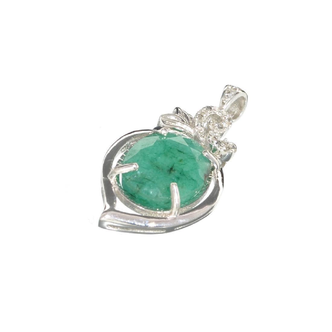 APP: 0.6k Fine Jewelry 9.00CT Oval Cut Green