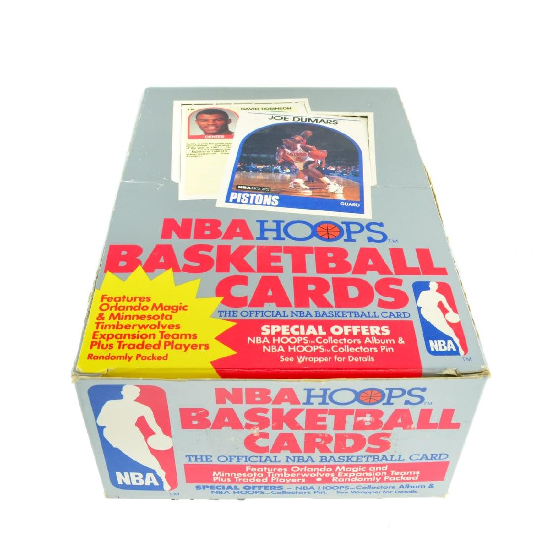 The Official NBA Hoops Basketball Card Set