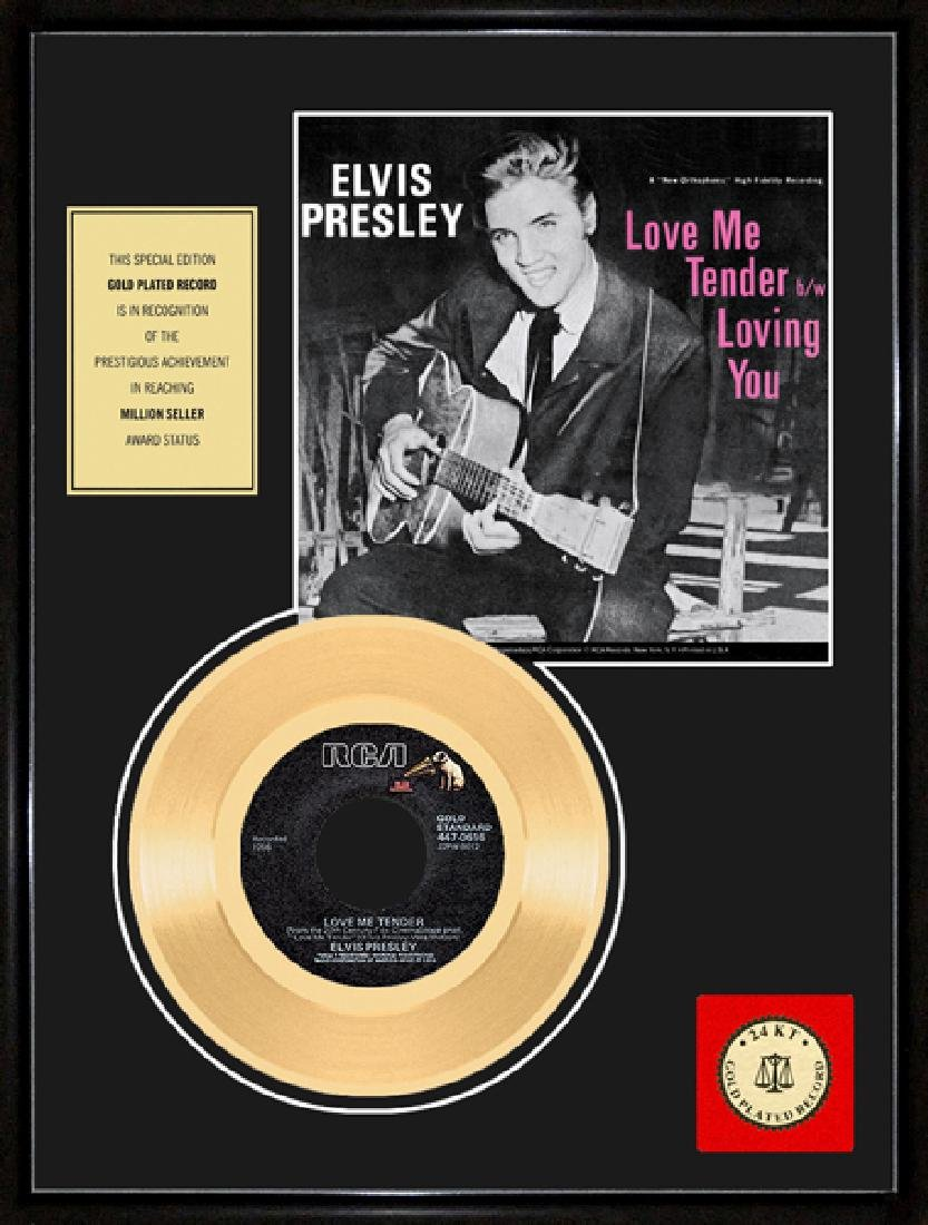 ''Love Me Tender'' Gold Record