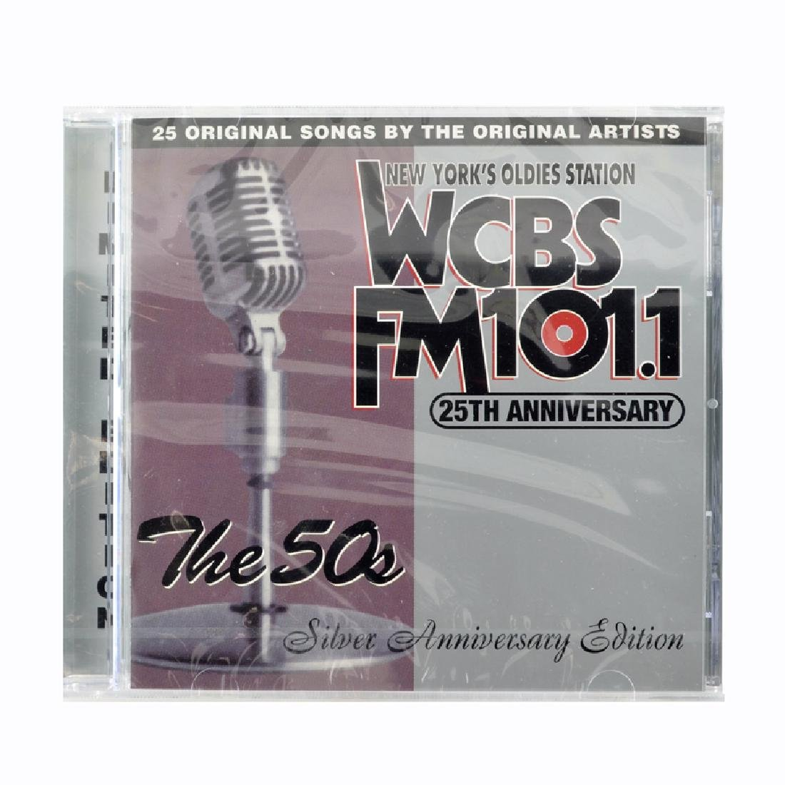 WCBS FM101.1  The 25th Anniversary Album, The 50s CDs