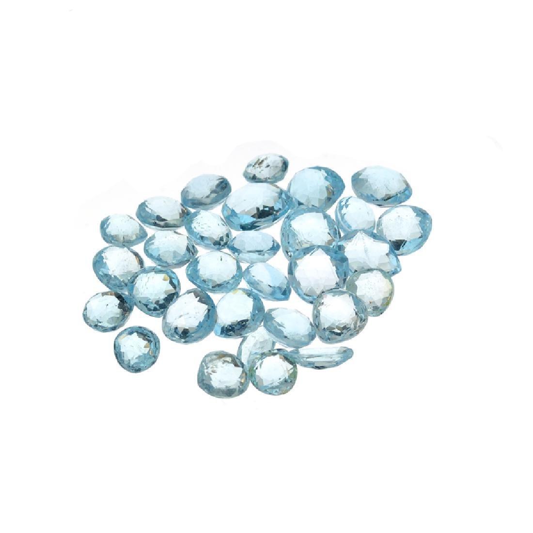 APP: 1.1k 45.00CT Blue Topaz Parcel