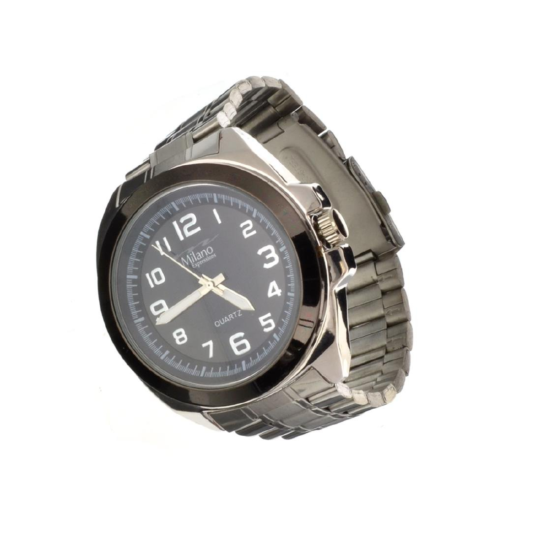 Milano Expressions Stainless Steel Watch
