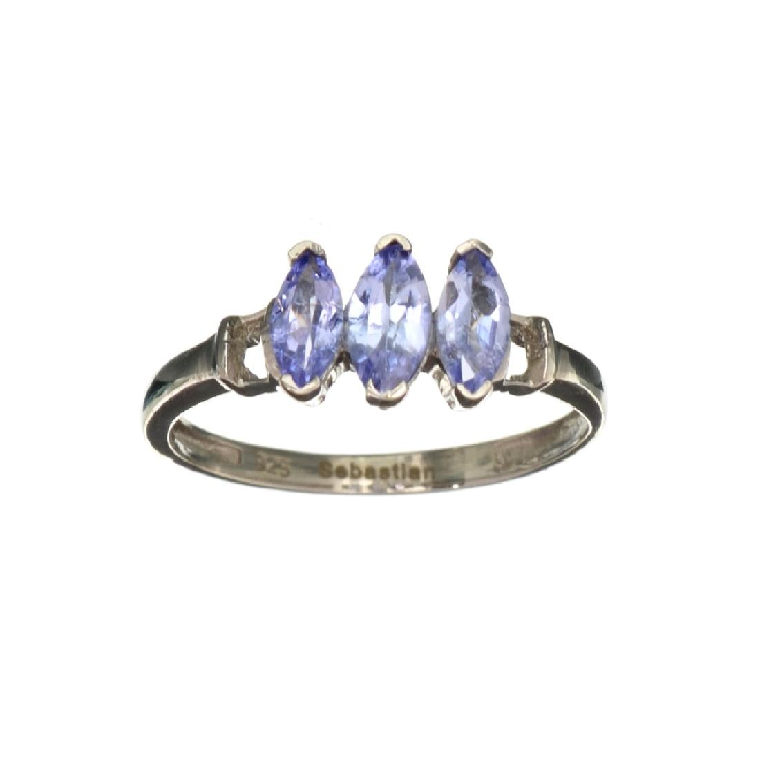 APP: 0.9k Fine Jewelry 0.40CT Marquise Cut Tanzanite