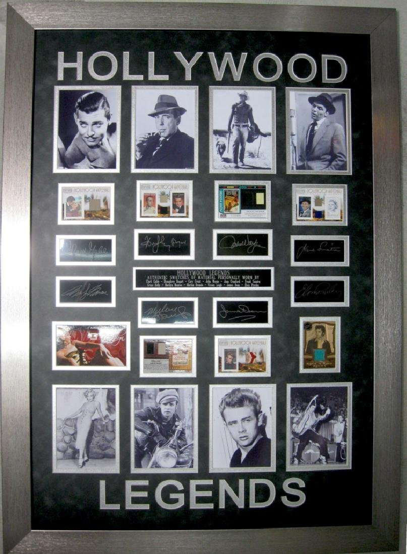 Hollywood Legends Swatch of Clothing - Plate Signatures