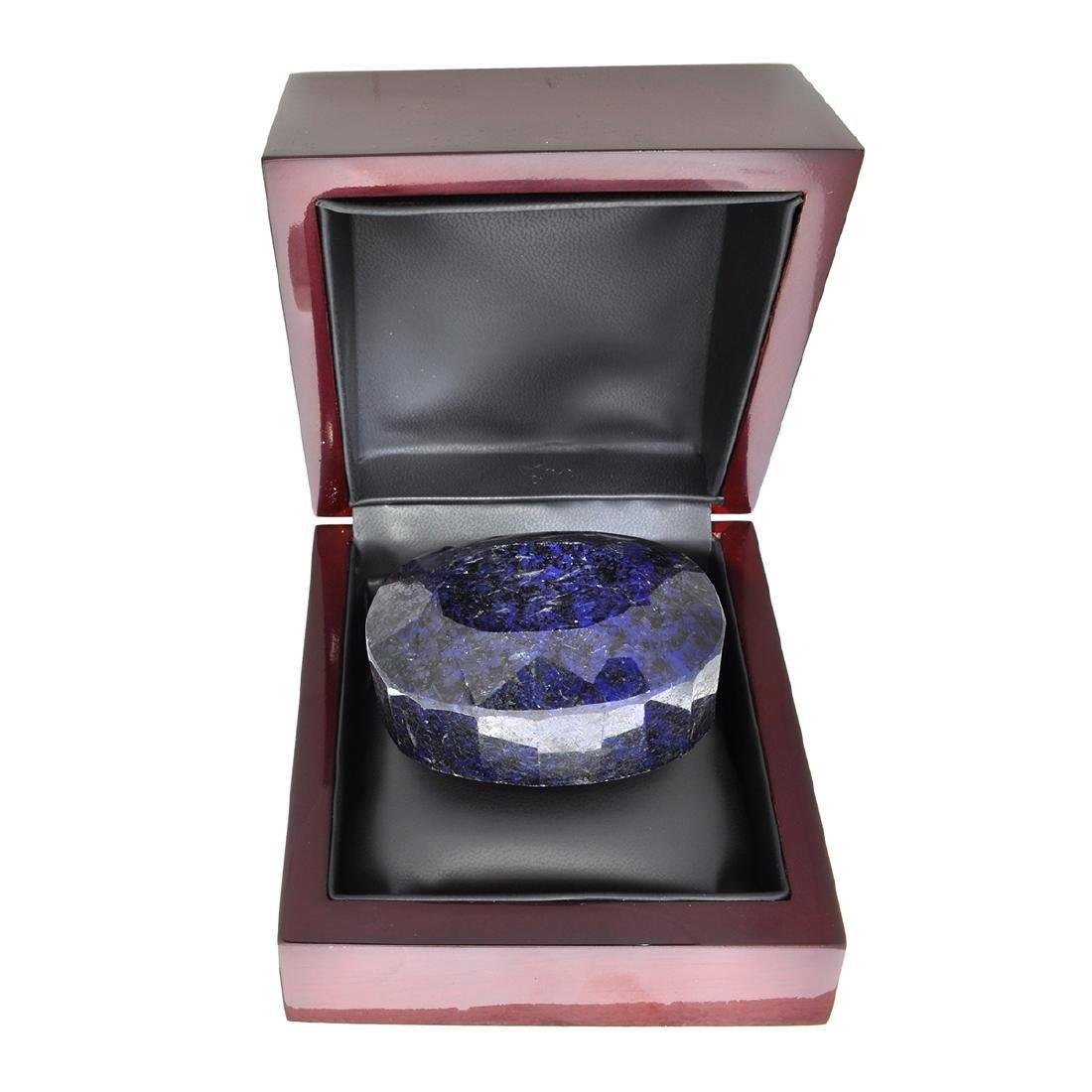APP: 4.8k 1,918.00CT Oval Cut Blue Sapphire Gemstone