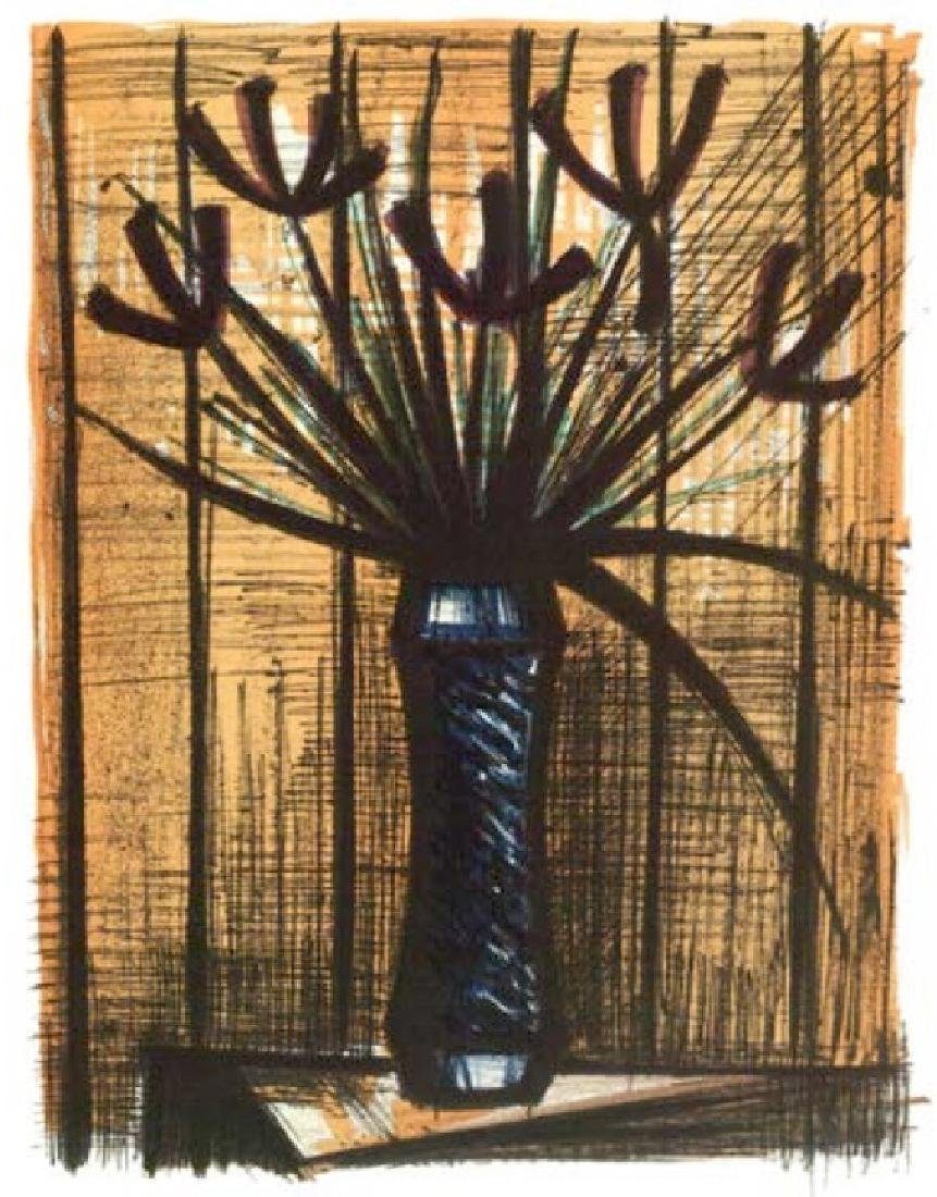 Bernard Buffet Lithograph ''''Iris'''' 12 x 17 Paper