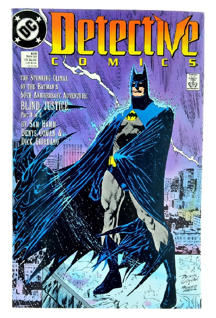 Detective Comics (1937 1st Series) Issue 600