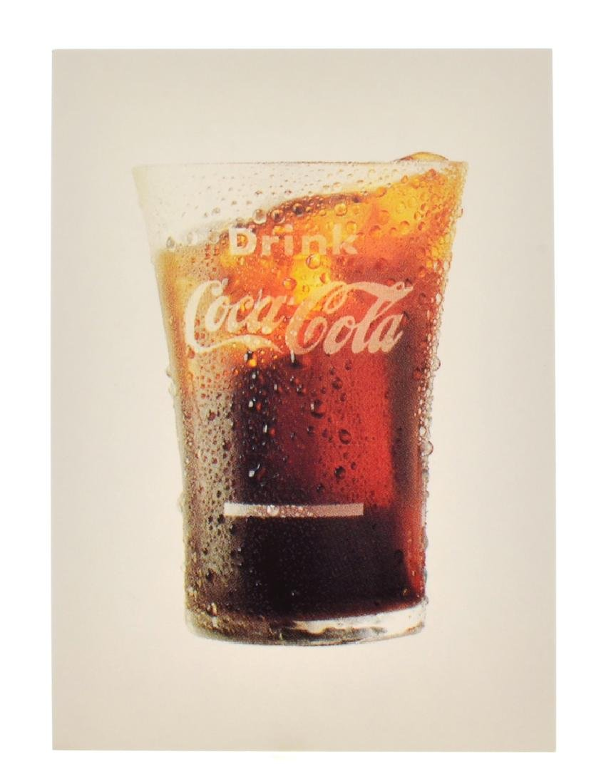 Collectable Coca Cola Advertising Poster/Card (3'' x