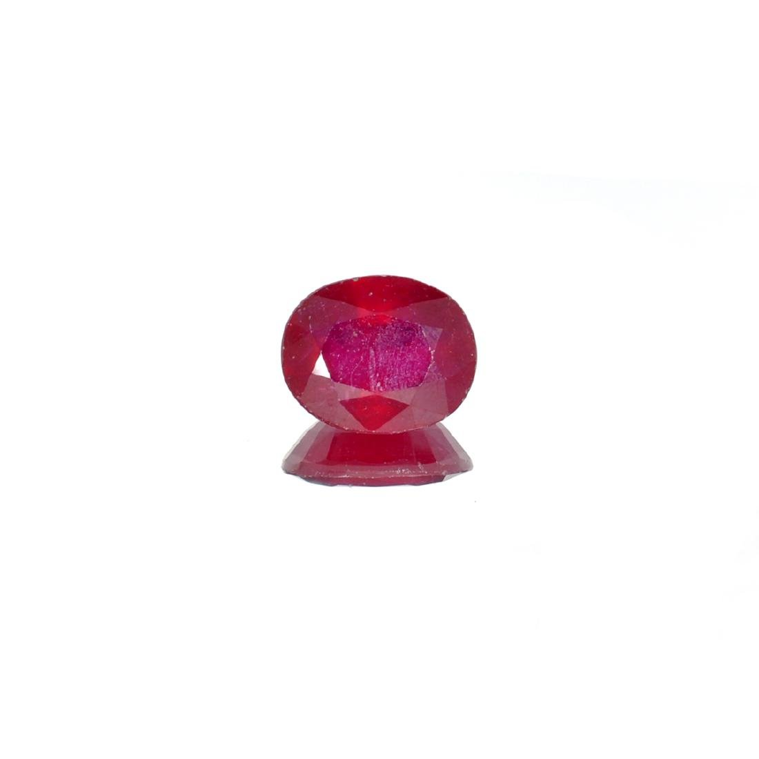 APP: 1.6k 6.06CTCT Oval Cut Ruby Gemstone