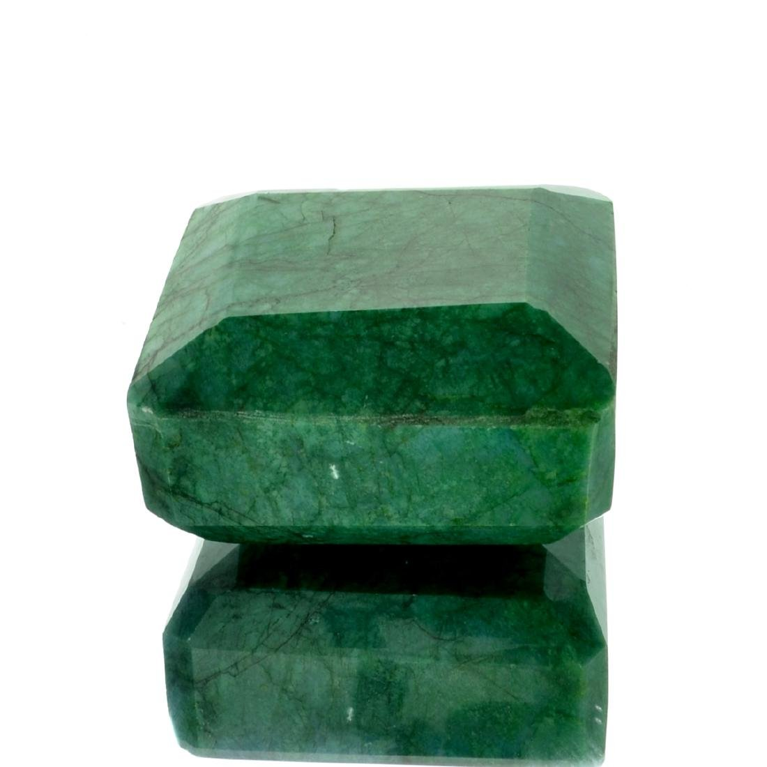 APP: 6.6k 1,649.00CT Emerald Cushion Cut Green Beryl